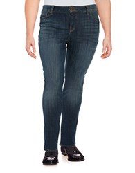 Lucky Brand Plus Faded Dark Wash Jeans Tiburon