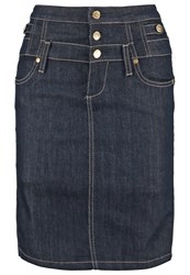 Liu Jo Jeans Pencil Skirt Normal Wash Rinsed