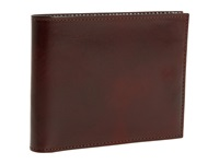 Bosca Old Leather Collection Executive Id Wallet Cognac Leather Bi Fold Wallet Brown