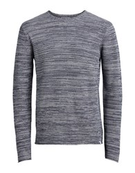 Jack And Jones Joraxel Knit Crewneck Pullover Light Grey