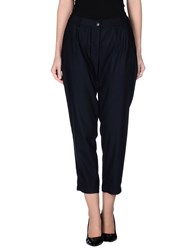 Semi Couture Trousers Casual Trousers Women Dark Blue
