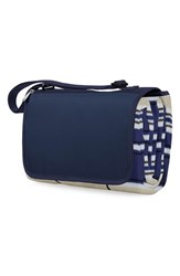 Picnic Time Blanket Tote Blue