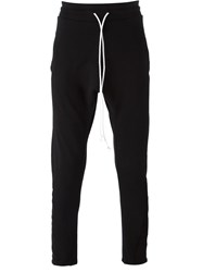 Lost And Found Tapered Track Pants Black