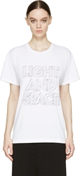 Marc By Marc Jacobs White Light And Space T Shirt