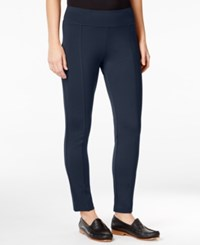 G.H. Bass And Co. Ponte Compression Leggings Deep Navy