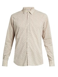 Bevilacqua David Floral Print Cotton Shirt Multi
