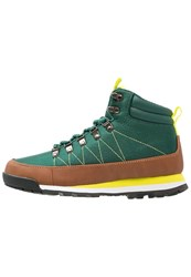 Your Turn Laceup Boots Green