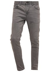 Only And Sons Onswarp Slim Fit Jeans Dark Grey Denim White