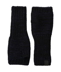 Original Penguin Variegated Knit Gloves Black Extreme Cold Weather Gloves