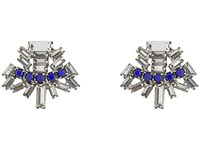 Dannijo Kellan Earrings Royal Blue Earring