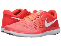 Nike Flex 2016 Rn Bright Mango White Bright Crimson Noble Red Women's Running Shoes Pink