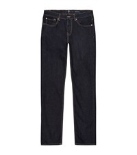 7 For All Mankind Slimmy Clean Slim Fit Jeans Male Dark Blue