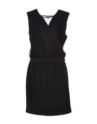 Bel Air Knee Length Dresses Black