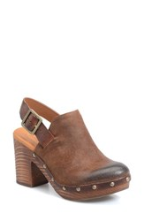 Kork Easer Women's Ease 'Rosalind' Mule Brown Leather