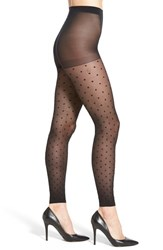 Women's Nordstrom Polka Dot Footless Tights