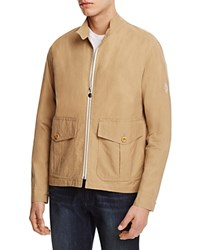 Gloverall Cotton Zip Front Jacket Khaki