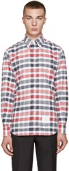 Thom Browne Tricolor Classic Check Shirt