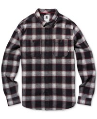 Element Men's Medford Plaid Shirt Bone