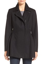Calvin Klein Women's Skirted Wool Blend Jacket
