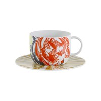 Missoni Home Protea Teacup And Saucer Set Of 2