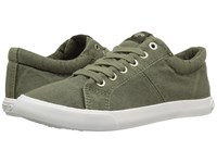 Rocket Dog Campo Olive Beach Canvas Women's Lace Up Casual Shoes