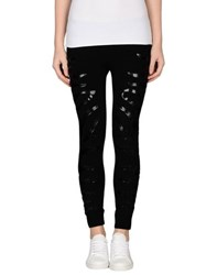 Amen. Trousers Leggings Women Black