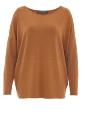 Hallhuber Oversized Long Sleeve Brown