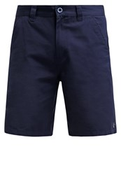 Lrg Marauder Walk Shorts Navy Dark Blue