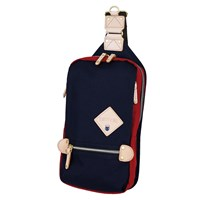 Harvest Label Two Tone Sling Pack Navy Red