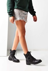 Urban Outfitters Claude Combat Boot Black