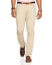 Polo Ralph Lauren Varick Slim Fit 5 Pocket Pants Classic Khaki