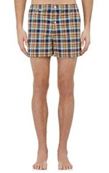Sleepy Jones Men's Plaid Jasper Boxers Multi