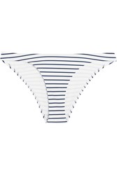 Melissa Odabash Sumatra Striped Bikini Briefs Navy White