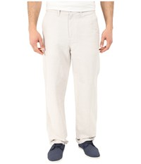 Nautica Linen Cotton Pants Wheat Flax Men's Clothing Beige