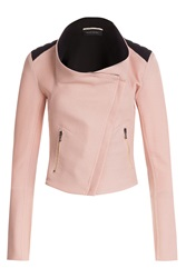 Roland Mouret Funnel Neck Blazer Rose