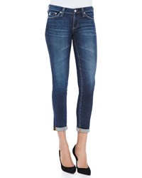 Ag Jeans Stilt Rolled Cuff Skinny Cropped Jeans 6 Year Dive Yr Dive