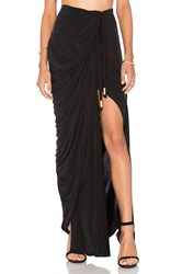 Style Stalker Echoes Of Love Maxi Skirt Black