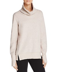 Alo Yoga Haze Turtleneck Sweatshirt Buff Heather