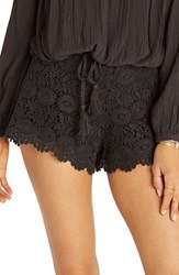 Billabong Women's Heavenly Skies Crochet Shorts