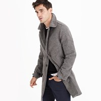 J.Crew English Houndstooth Wool Car Coat
