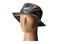 The North Face Canyon Explorer Hat Spruce Green Pineapple Palm Print Bucket Caps Black