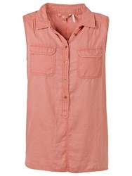 Fat Face Katie Sleeveless Shirt Sunkissed