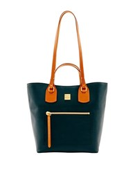 Dooney And Bourke Raleigh Jenny Leather Tote Black