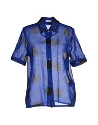 Beayukmui Shirts Blue