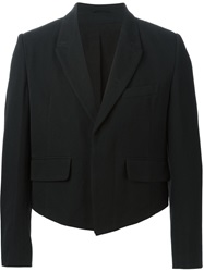 Ann Demeulemeester Cropped Jacket Black