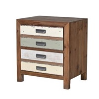 Recycled Spruce Bedside Cabinet