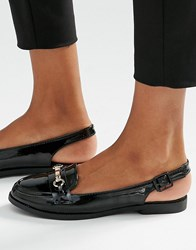 New Look Sling Back Loafer Black