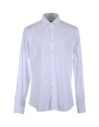 Del Siena Shirts Long Sleeve Shirts Men White