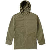 Norse Projects Lindisfarne Summer Cotton Jacket Green