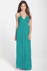 Felicity And Coco Braided Strap Jersey Maxi Dress Regular And Petite Nordstrom Exclusive Blue